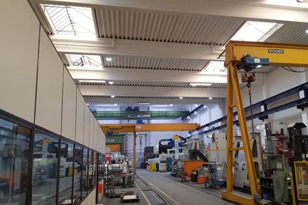 Referenzen Hallenbeleuchtung protec ENERGYPLUS GmbH