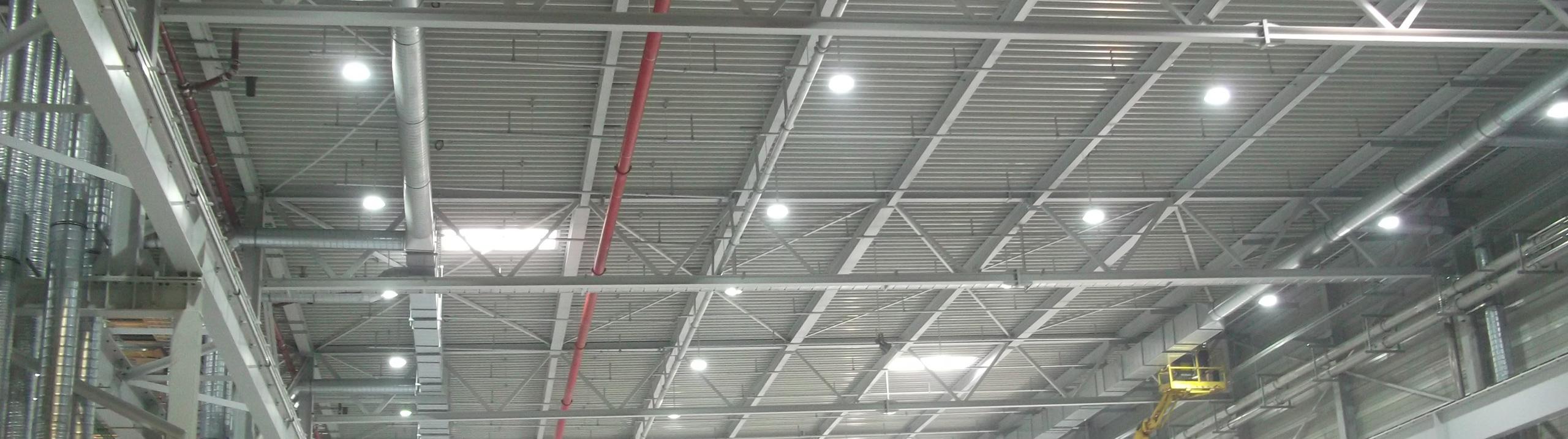 protec ENERGYPLUS GmbH Hallenbeleuchtung Industriebeleuchtung