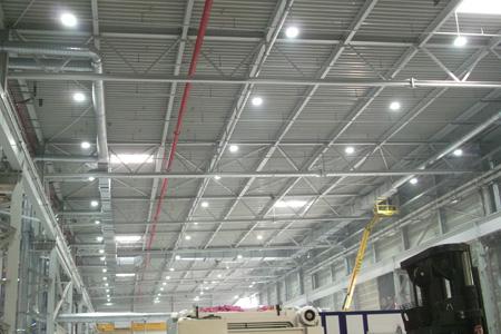 Industriebeleuchtung Hallenbeleuchtung protec ENERGYPLUS GmbH