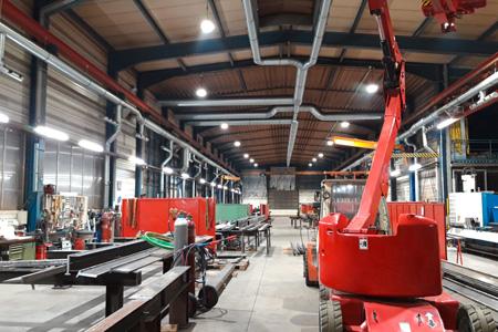 Leuchtenmontage Referenz protec ENERGYPLUS GmbH