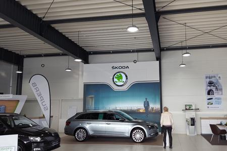 Referenz protec ENERGYPLUS GmbH Skoda Autohaus