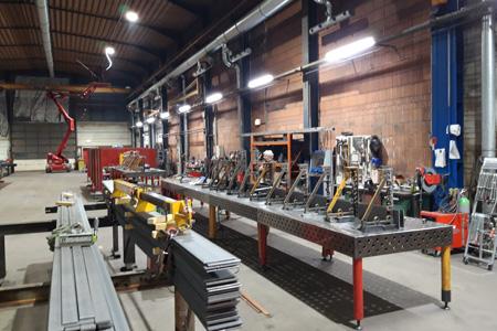 Stahlbauhalle Modellreihen HB 380 und TUBES