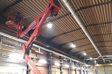 Montage und Elektro-Installation - protec ENERGYPLUS GmbH - Professionelle Lichttechnik für Industrie, Gewerbe und Kommunen