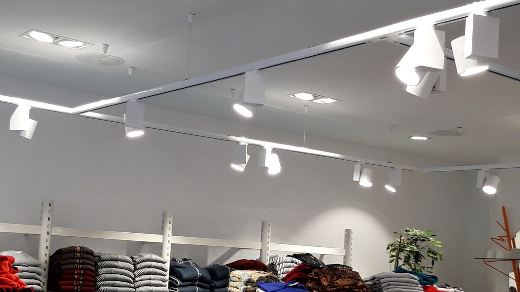 Verkaufsräume Beleuchtung protec ENERGYPLUS