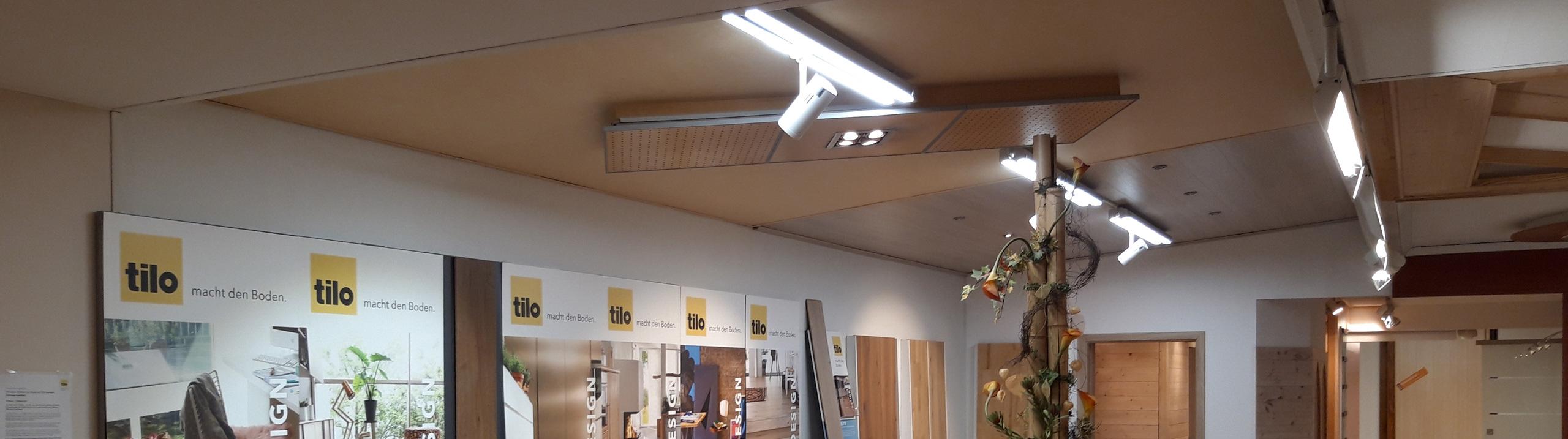 Verkaufsräume Beleuchtung protec ENERGYPLUS GmbH